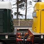 D8137+D8098 Gloucester & Warwickshire Railway