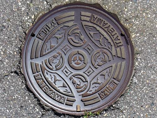 Tateyama Toyama, manhole cover (富山県立山町のマンホール)