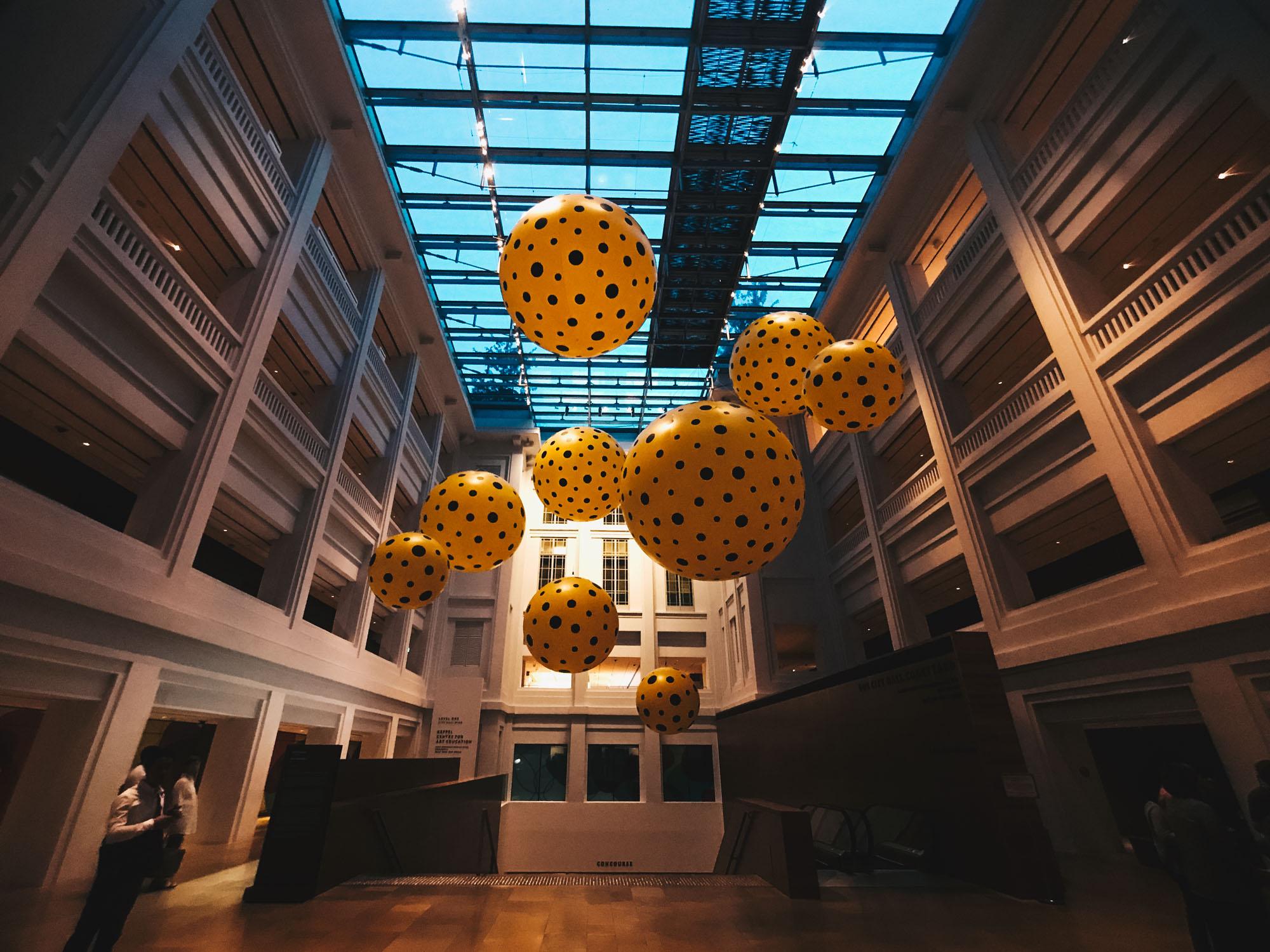 yayoi kusama exhibition singapore darrenbloggie-2