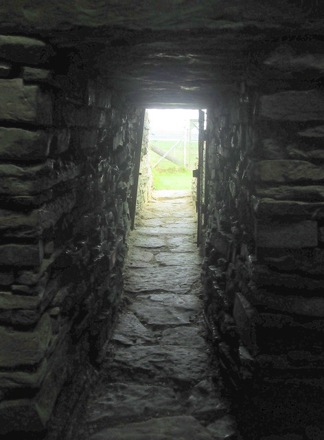 Entrance/Exit Unstan Chambered Burial Cairn, Orkney