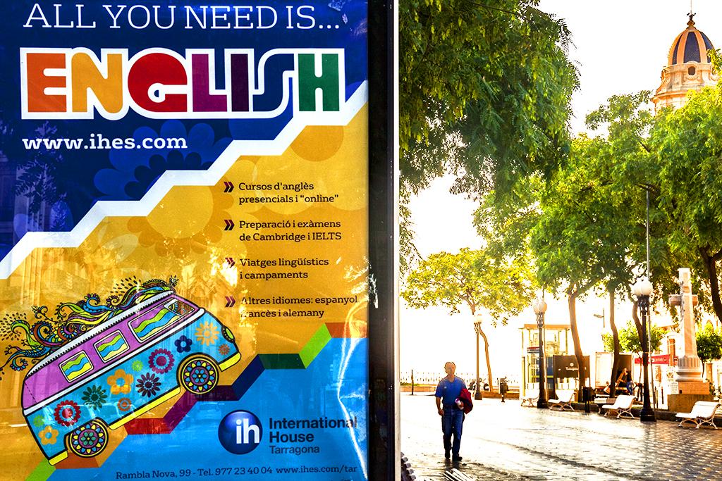ALL YOU NEED IS ENGLISH--Tarragona