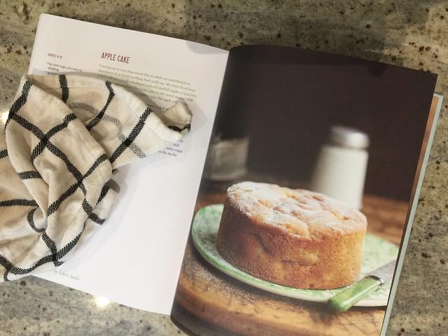 Baking apple cake from The Baker's Daughter | EvinOK.com