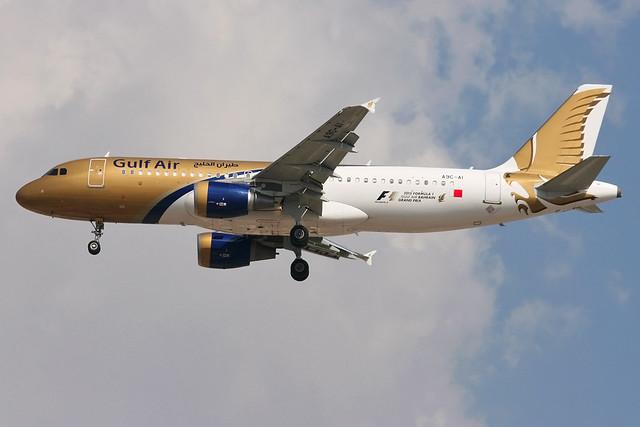A9C-AI - A320-214 - Gulf Air