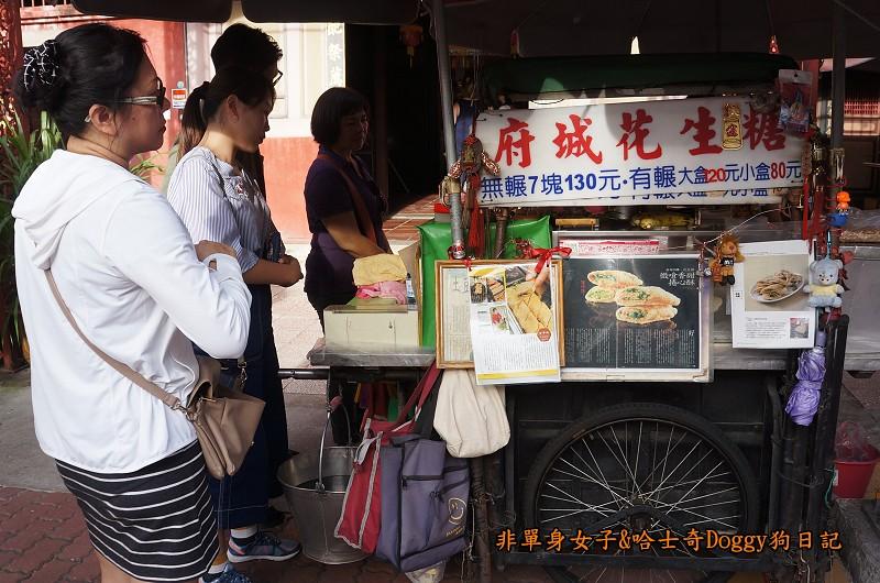 台南景點赤崁樓與美食20府城花生糖