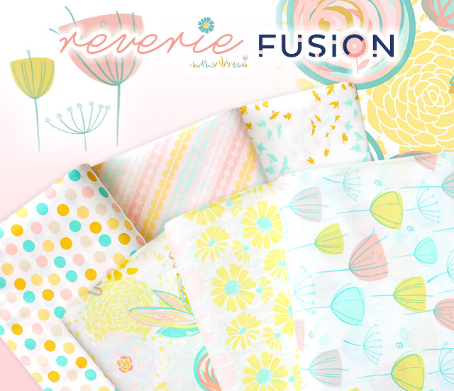 Art Gallery Fabrics Reverie Fusion Collection by AGF Studio
