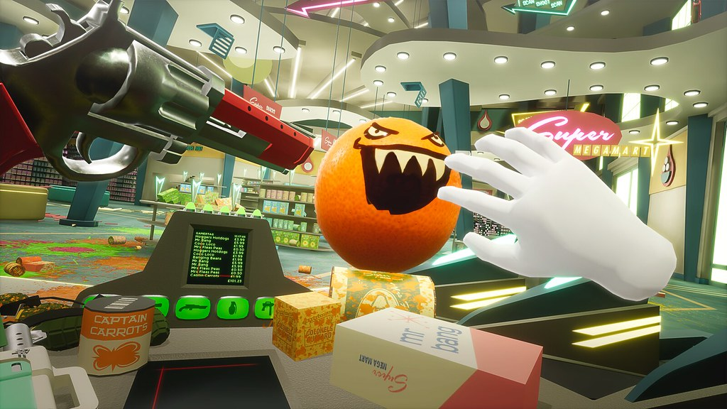 Shooty Fruity for PS VR