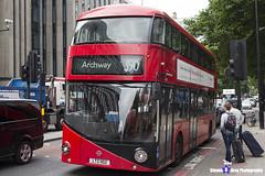 Wrightbus NRM NBFL - LTZ 1102 - LT102 - Archway 390 - Metroline - London 2017 - Steven Gray - IMG_0006