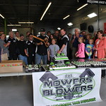 Mowers To Blowers Ribbon Cutting