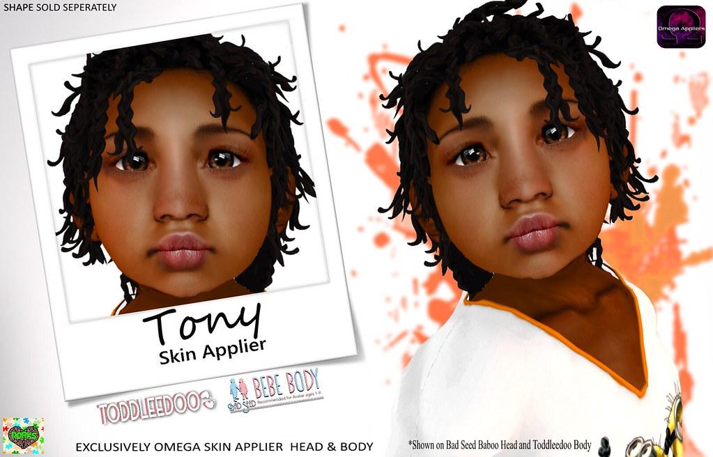 **DoRks**  Tony Skin @Hello Beautiful - SecondLifeHub.com