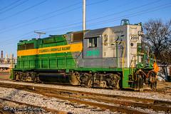 CAGY 2000 | EMD GP38 | CAGY Greenwood Depot