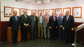 El 18 de setembre vam presentar la galeria de presidents, ubicada a l'auditori PIMEC.