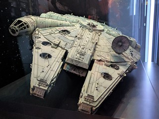Millennium Falcon Model Front