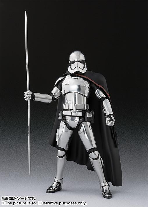 閃閃發亮的銀色盔甲!S.H.Figuarts《星際大戰:最後的絕地武士》法斯瑪隊長 キャプテン・ファズマ(THE LAST JEDI)