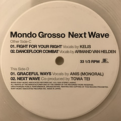 MONDO GROSSO:NEXT WAVE(LABEL SIDE-D)
