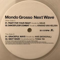 MONDO GROSSO:NEXT WAVE(LABEL SIDE-D)