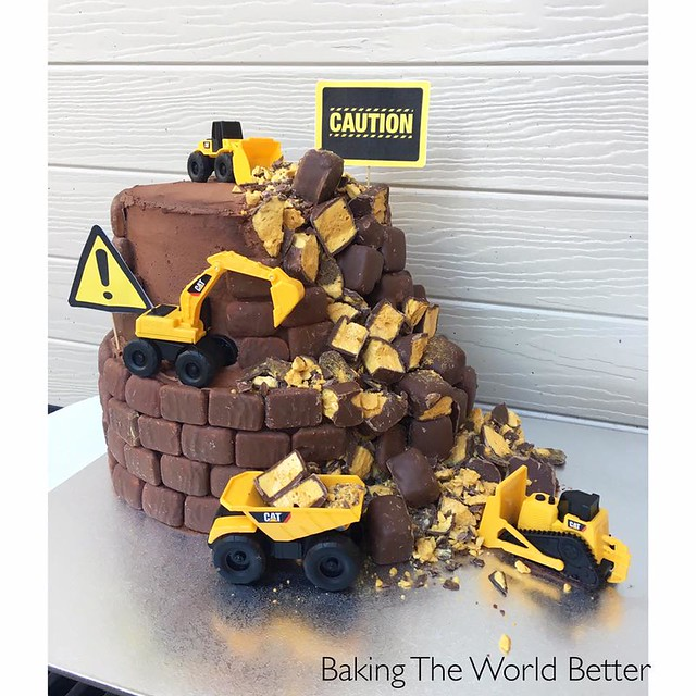 Construction Cake by Baking The World Better