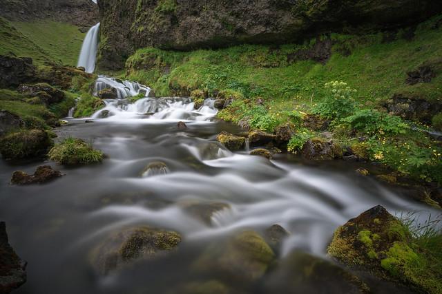 Flowing Water - Seljalandsfoss