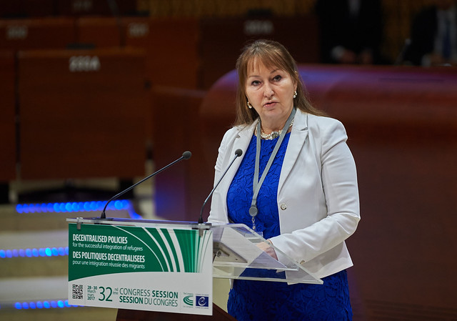 Gunn Marit Helgesen, President of the Chamber of Regions of the Congress of Local and Regional Authorities of the Council pf Europe