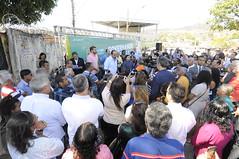 20/08/2017. Prefeito Alexandre Kalil assina ordem de serviço para construção de unidade de posto de saúde no Vera Cruz. Fotos: Rodrigo Clemente/PBH