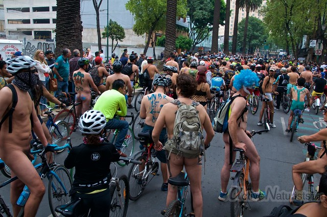naturist 0001 WNBR World Naked Bike Ride, Mexico