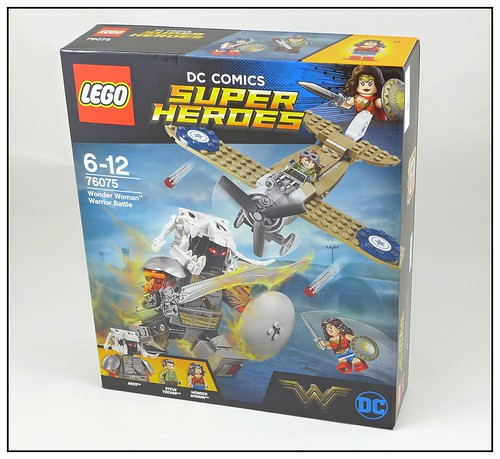 LEGO DC Super Heroes 76075 Wonder Woman Warrior Battle 01