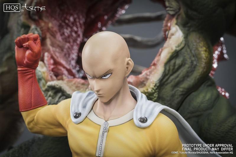 可憐的怪人~~TSUME-ART HQS 系列 一拳超人【埼玉】Saitama 毀天滅地的一拳!!