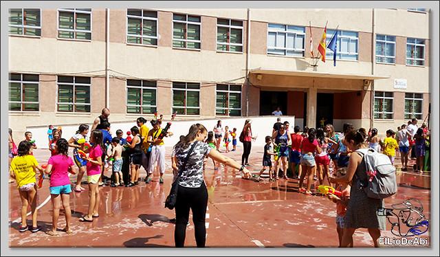#BriviescaFiestas17 Batalla del agua