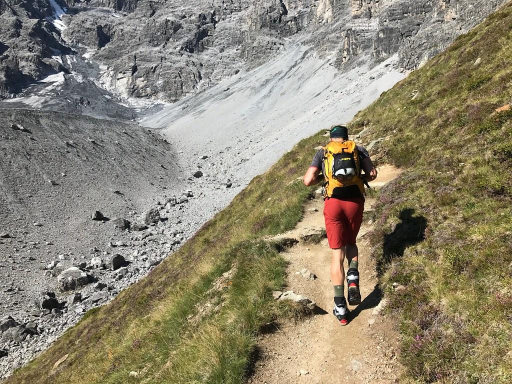 Klettersteig Tabaretta : Klettersteig beschreibung südwand