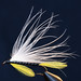 White Marabou Streamer Fly