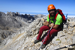 Jorge en Peña Vieja (2.614 m)