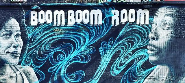 Boom Boom Room Mural