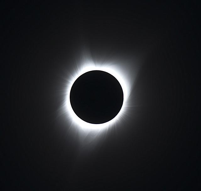 Great American Eclipse V1, Nikon D800, AF-S VR Zoom-Nikkor 200-400mm f/4G IF-ED