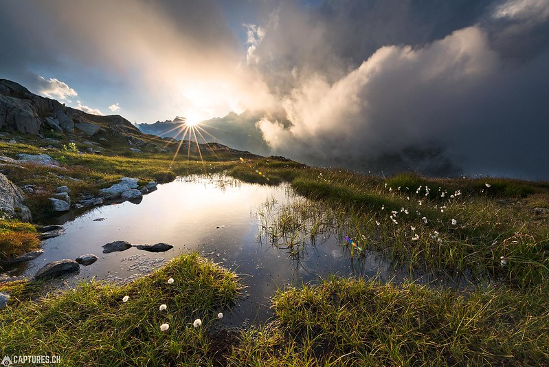 Between the clouds - Grimsel