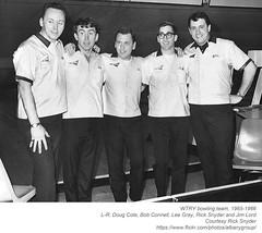 wtry bowling team 1965-66