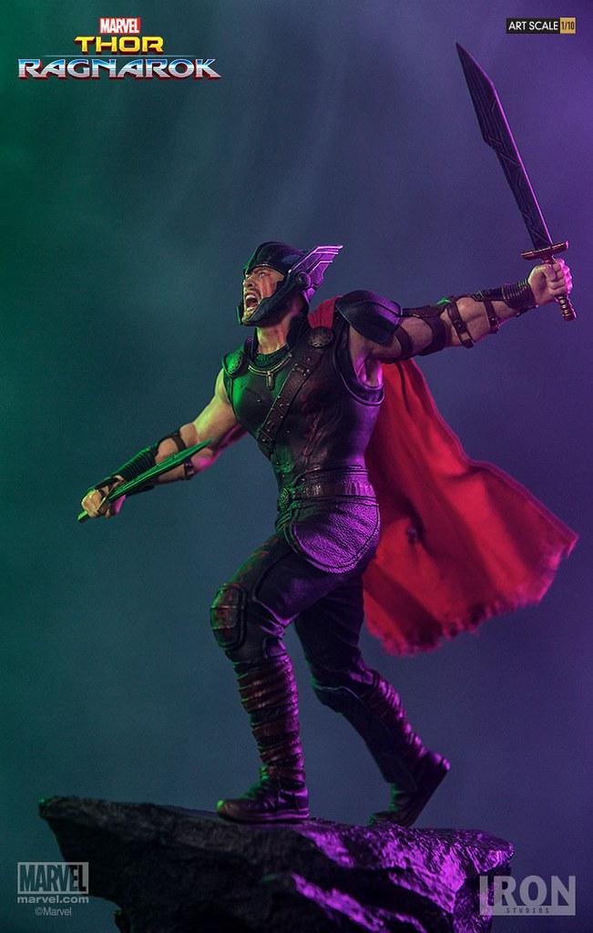 Iron Studios Battle Diorama 系列 雷神索爾3:諸神黃昏【索爾】Thor Ragnarok Thor 1/10 比例決鬥場景作品