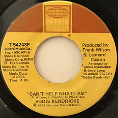 EDDIE KENDRICKS:BOOGIE DOWN(LABEL SIDE-B)