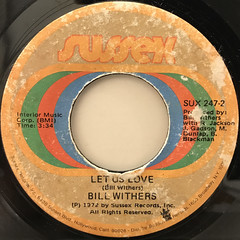 BILL WITHERS:THE GIFT OF GIVING(LABEL SIDE-B)