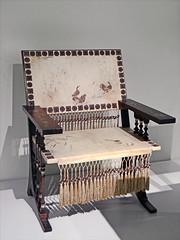 Fauteuil de Carlo Bugatti (Kunstgewerbemuseum, Berlin)
