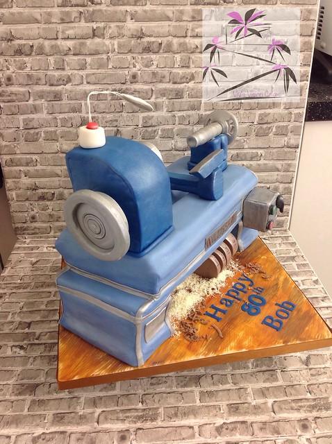 Wood Worker Cake by Vivien Green