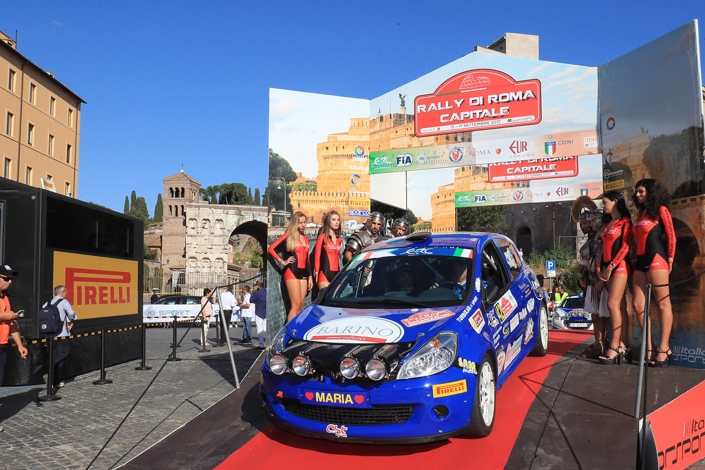 42  start during the 2017 European Rally Championship ERC Rally di Roma Capitale,  from september 15 to 17 , at Fiuggi, Italia - Photo Jorge Cunha / DPPI