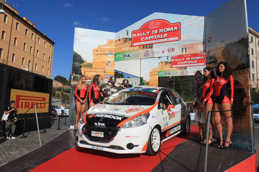 45 start during the 2017 European Rally Championship ERC Rally di Roma Capitale,  from september 15 to 17 , at Fiuggi, Italia - Photo Jorge Cunha / DPPI