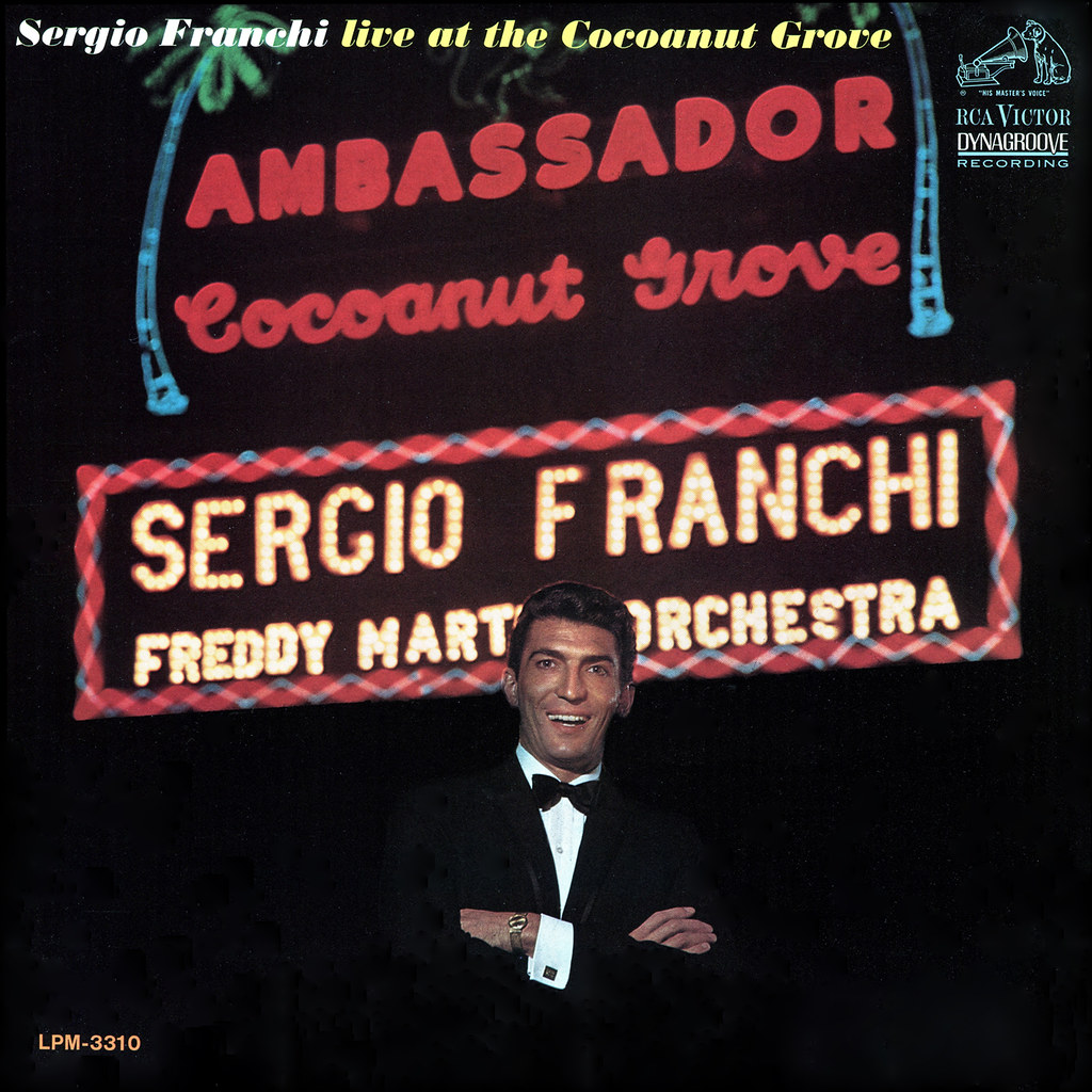 Sergio Franchi - Live at the Cocoanut Grove
