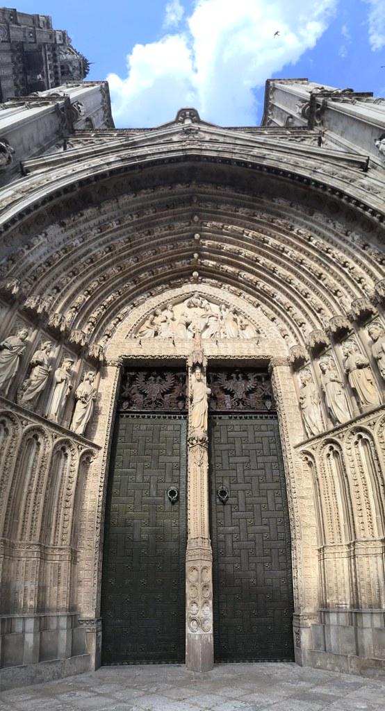 Catedral de Toledo, portada