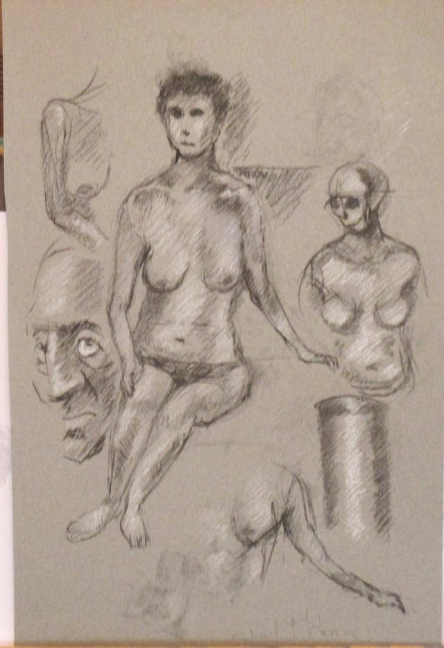 The Naked Model and another monsters