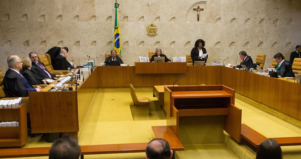STF aprova envio de nova denúncia contra Temer à Câmara os Deputados, STF aprova envio de nova denúncia contra Temer à Câmara os Deputados, Plenário do STF