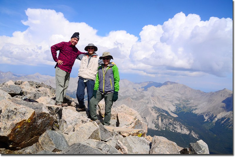 Taken from the summit of Mount Yale 1