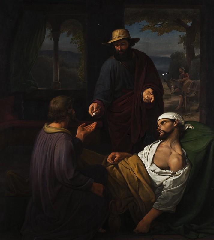 Christian Emil Andersen - The Good Samaritan (1844)