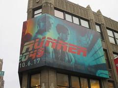 Blade Runner 2049 Billboard 30th St 2017 NYC 0561