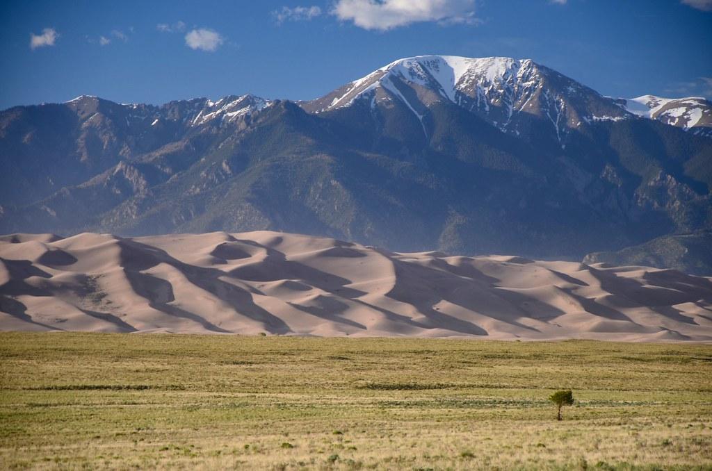 Mt Herard, Great Sand Dunes National Park