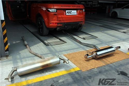 Range Rover Evoque x Armytrix Exhaust